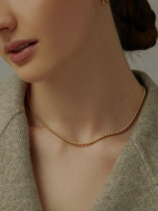 매디(MAEDY) Flow Layered Bold Necklace