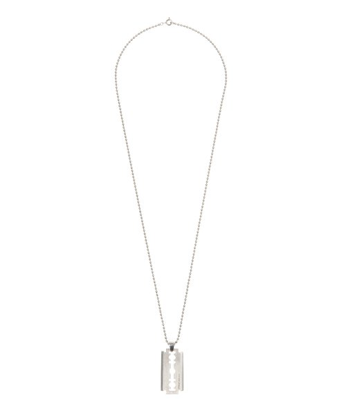 비바스튜디오(VIVASTUDIO) RAZOR NECKLACE JA [SILVER]