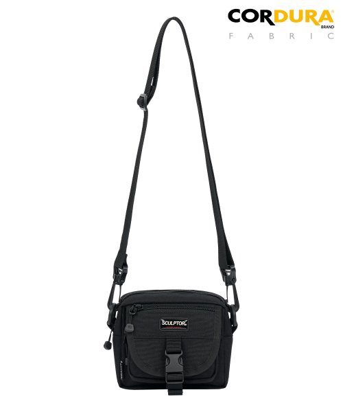 스컬프터(SCULPTOR) Cordura Belt bag [BLACK]