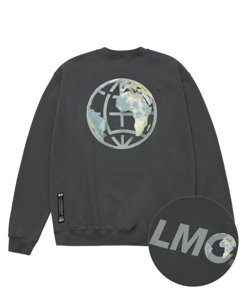 LMC EARTH LOGO SWEATSHIRT charcoal