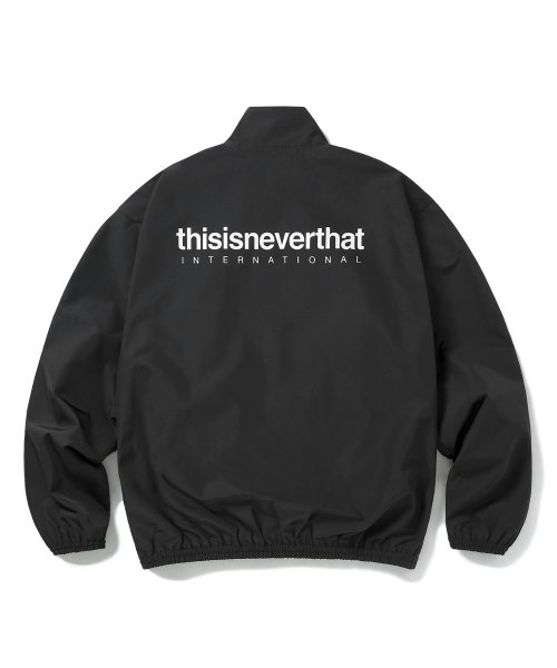 디스이즈네버댓(THISISNEVERTHAT) INTL. Team Jacket Black