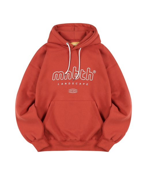 메인부스(MAINBOOTH) MNBTH Hood T-shirt(CARROT)