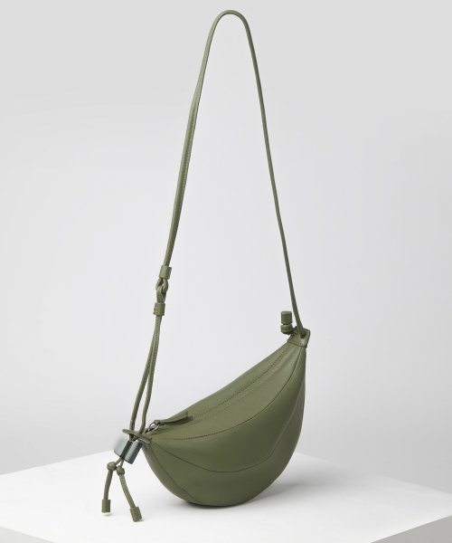 아카이브앱크(ARCHIVEPKE) small fling bag(Oslo green)