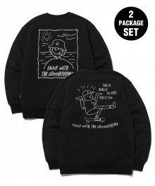 [패키지] 9TH ANNIVERSARY 2PACK SWEAT SHIRTS EDITION