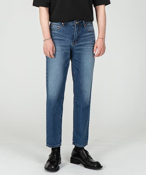 브랜디드(BRANDED) 1943 WILDBOY JEANS [CROP STRAIGHT]