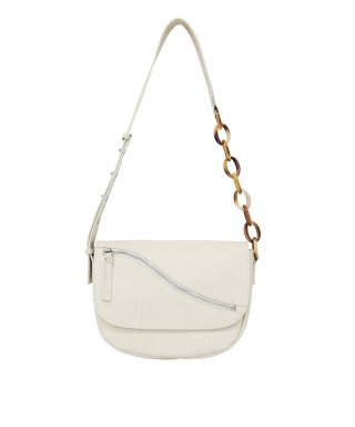 마뗑킴(MATIN KIM) HOLLYWOOD BAG IN WRINKLE IVORY