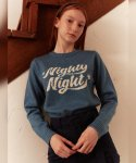 메인부스(MAINBOOTH) Nighty Night Sweater(BLUE)