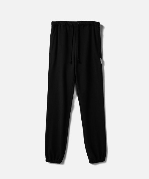 에이카화이트(AECA WHITE) HEAVY WEIGHT CLASSIC SWEATPANTS (Premium BASIC)-BLACK