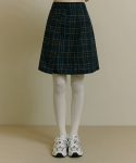오아이오아이(OiOi) POCKET POINT PLEATS SKIRT [CHECK]
