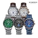 스콜피온(SCORPION) Full Calendar Moon Phase Watches SP3320