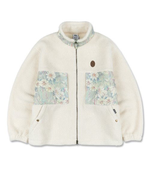 스컬프터(SCULPTOR) Double Pocket Sherpa Jacket [IVORY]