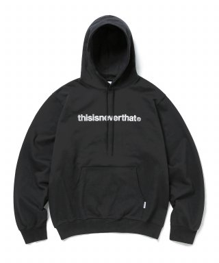 디스이즈네버댓(THISISNEVERTHAT) T-Logo Hooded Sweatshirt Black (003)