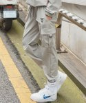 써치410(SEARCH410) [UNISEX] SYMBOL RUBBER JOGGER PT_GRAY