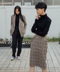 레어코랄() 20FW Wool Tucked Midi Skirt