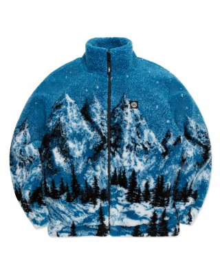 엘엠씨(LMC) LMC SNOW VILLAGE FLEECE JACKET blue