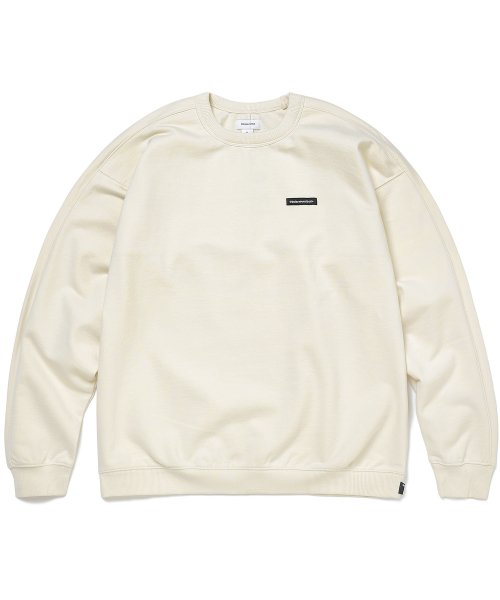 디스이즈네버댓(THISISNEVERTHAT) S-Crewneck Sweat Ivory