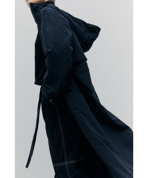 마뗑킴(MATIN KIM) STRING HOOD LONG JUMPER