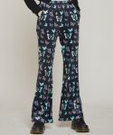 러브이즈트루(LUV IS TRUE) DT BUTTERFLY VELVET PANTS(BLACK)