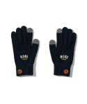 5252 바이 오아이오아이(5252BYOIOI) BUTTON POINT GLOVES [NAVY]