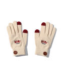 5252 바이 오아이오아이(5252BYOIOI) BUTTON POINT GLOVES [IVORY]