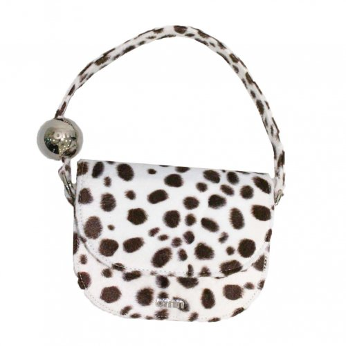 옴니포턴트(OMNIPOTENT) string ball bag [dalmatian/brown]
