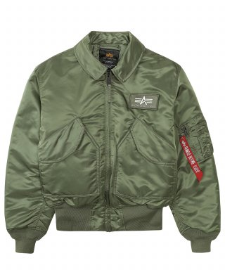알파 인더스트리(ALPHA INDUSTRIES) CWU 45/P Sage Green