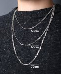 스칼렛또블랙(SCALETTOBLACK) SCB124 [사이즈 선택 가능] Surgical steel basic necklace