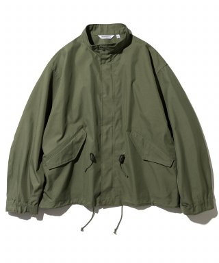 유니폼브릿지(UNIFORM BRIDGE) fishtail short jacket khaki