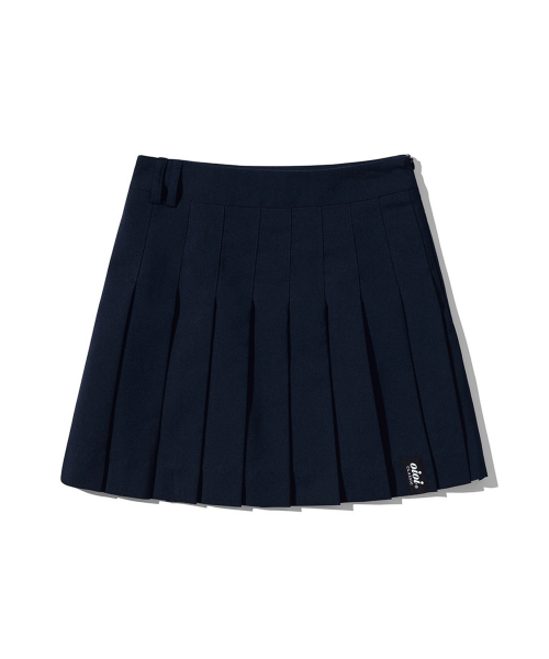 5252 바이 오아이오아이(5252BYOIOI) PLEATED MINI SKIRT [NAVY]