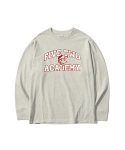 5252 바이 오아이오아이() FIVETWO BIRD LONG SLEEVE T-SHIRTS [OATMEAL]