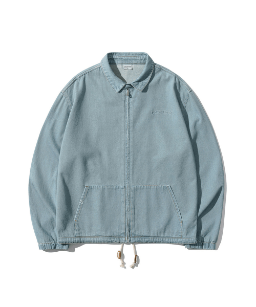 5252 바이 오아이오아이(5252BYOIOI) DENIM SWING JACKET [LIGHT BLUE]