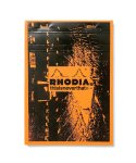 디스이즈네버댓(THISISNEVERTHAT) Rhodia notepad N° 16 Orange