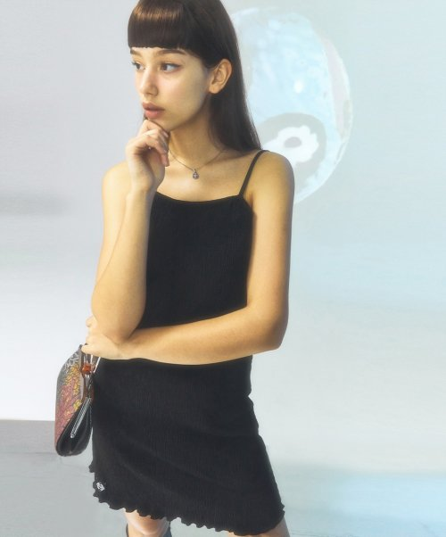 시티브리즈(CITY BREEZE) [CITY] Pleats Sleeveless Dress_BLACK (CTD1)