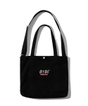 5252 바이 오아이오아이(5252BYOIOI) [ORIGINAL PACK] 2WAY CANVAS BAG [BLACK]