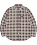 디스이즈네버댓(THISISNEVERTHAT) Plaid Twill Shirt Greenish Black
