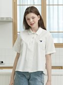 샐러드볼즈(SALAD BOWLS) SIGNATURE PURE BLOUSE [WHITE]