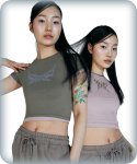 배디() BADEE REVERSIBLE TOP [KHAKI]