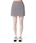 오아이오아이() CHECK MINI SKIRT [BLACK]