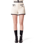 오아이오아이(OiOi) TWEED SHORT PANTS [IVORY]