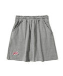 5252 바이 오아이오아이(5252BYOIOI) BASEBALL LOGO PK SKIRT [GREY]