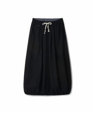 라모랭(RAMOLIN) Balloon Chino Skirt Black