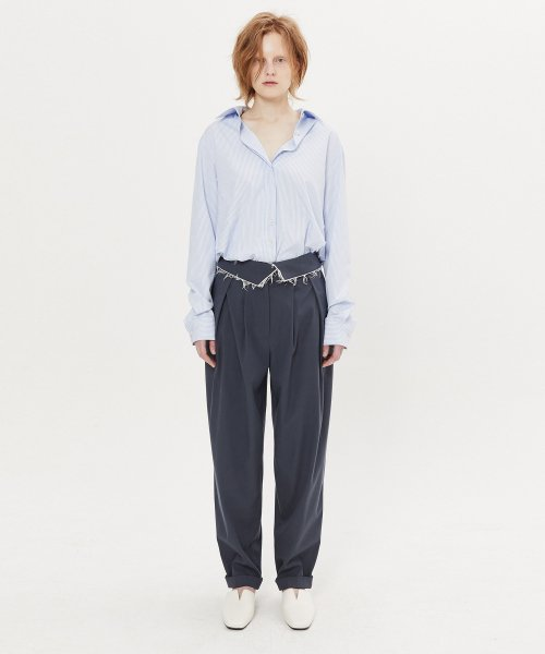 마뗑킴(MATIN KIM) ROUGH BALLOON SLACKS