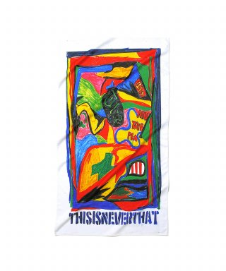 디스이즈네버댓(THISISNEVERTHAT) Abstract Sport Towel  White