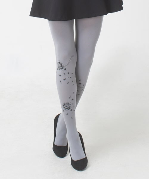 유니팝 레그웨어(UNIPOP LEGWEAR) Rose (Light Gray)