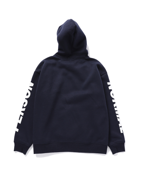 디폴트(DEFAULT) NORMAL PERSON PRINTING HOOD(NAVY)