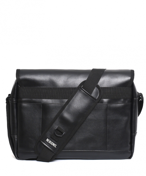 네이키드니스(NEIKIDNIS) [레더] ICON MESSENGER BAG / LEATHER BLACK