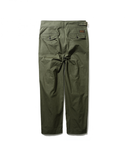 에스피오나지(ESPIONAGE) Ray Gurkha Pants Olive