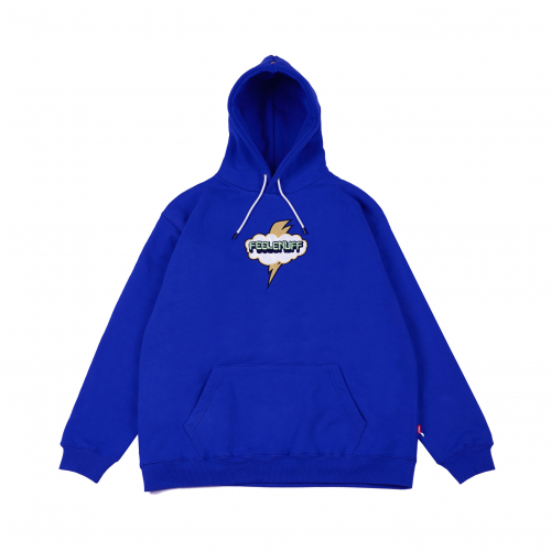 필이너프(FEELENUFF) CLOUD THUNDER HOODIE BLUE