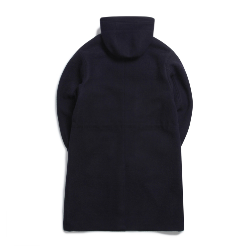 오버캐스트(OVERCAST) Hooded Long Coat (NAVY)