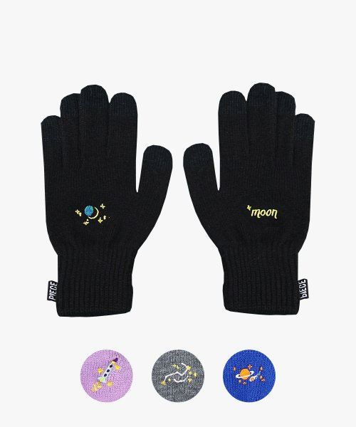 피스메이커(PIECE MAKER) SPACE UNIT SMART GLOVES (BLACK)